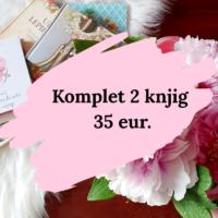 Komplet dveh knjig (35 eur.) Klikni na sliko
