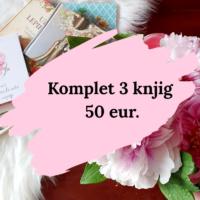 Komplet treh knjig (50 eur.) Klikni na sliko