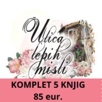 Komplet vseh petih knjig (85 eur.) Klikni na sliko